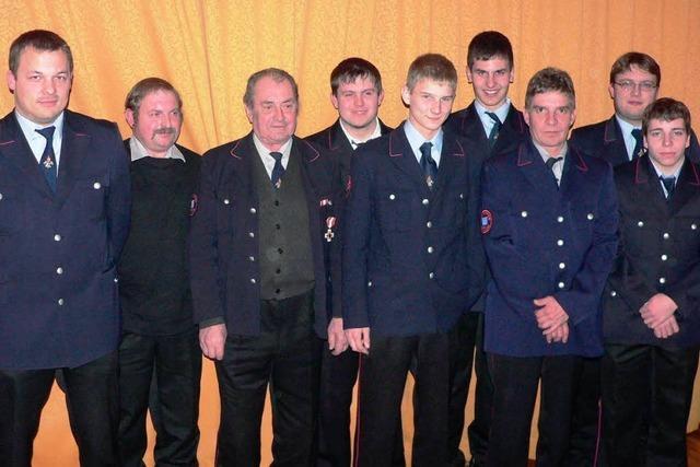 Birkendorfer Feuerwehr ehrt