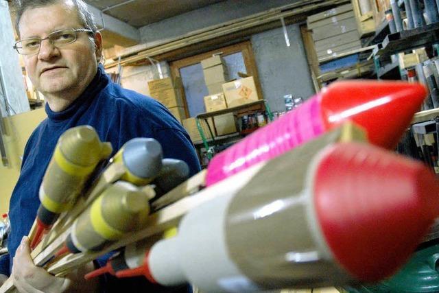 Offenburgs Feuerwerksexperte: Im Herzen ein Knallfrosch