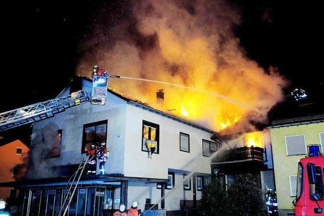 Brand schädigt junge Familie