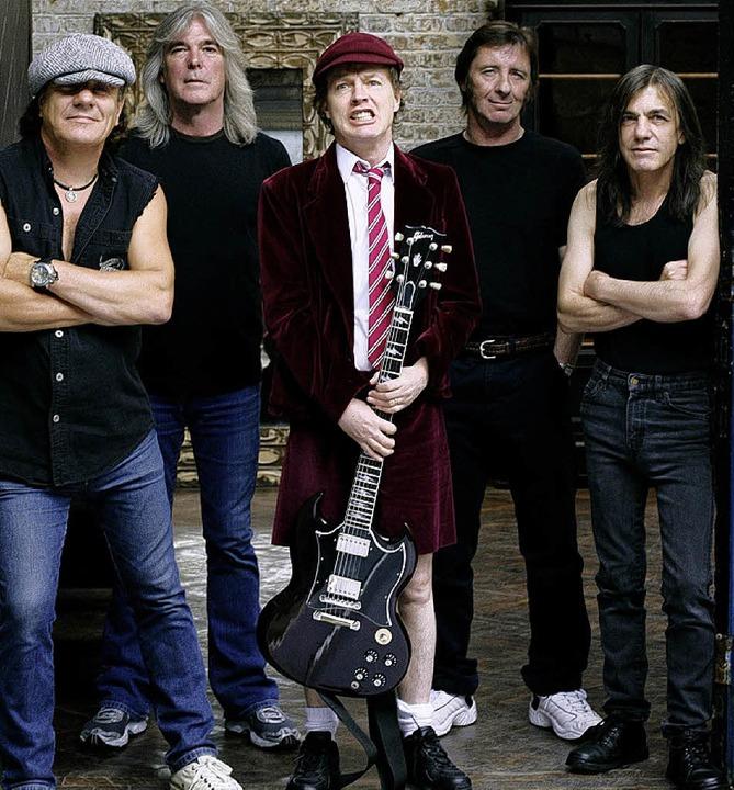 Feierten das Comeback des Jahres: AC/DC.     Foto: bz