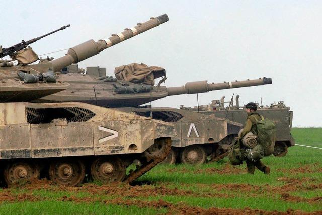 Olmert lehnt Waffenstillstand ab