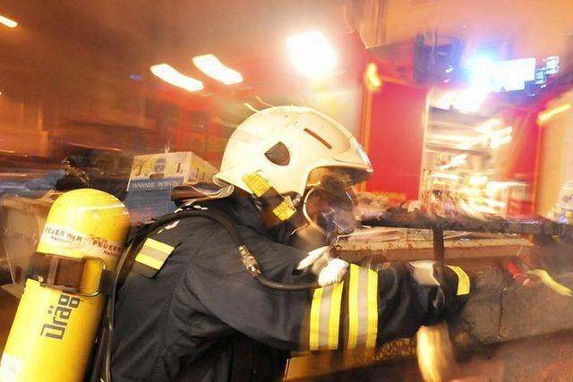 Stressige Silvesternacht für die Feuerwehren