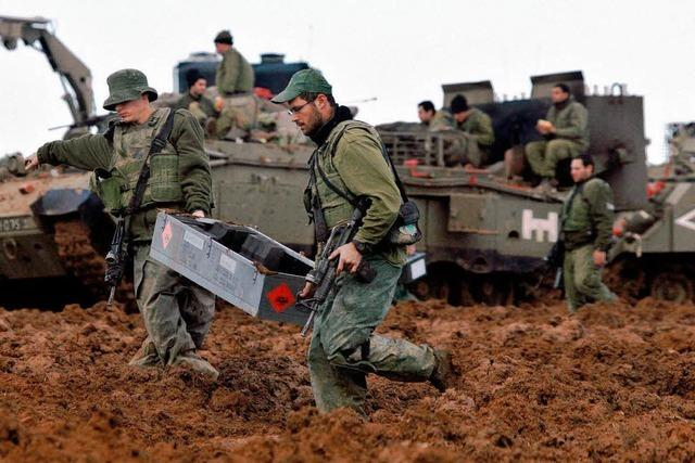 Israel ist angreifbar am Boden