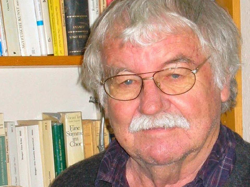 Vertrat über viele Jahre sozioaldemokr...79 Jahren in der Silvesternacht starb.  | Foto: Lothar Böhnert