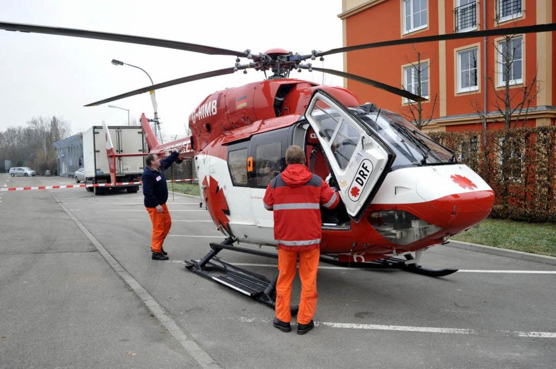 Pilot und Notarzt – mussten sie nach Hause laufen?  | Foto: Thomas Kunz