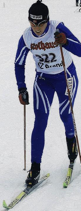 Aurelia Korthauer vom    SC Bonndorf lief überlegen Tagesbestzeit  | Foto: Helmut Junkel