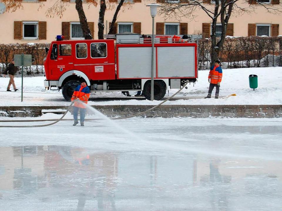 Die Feuerwehr Neustadt sorgt dafür, da...er Wälderstadt  in bestem Zustand ist.  | Foto: max spiegelhalter