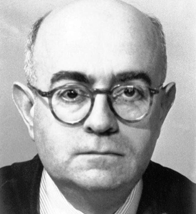 Theodor W. Adorno     Foto: dpa