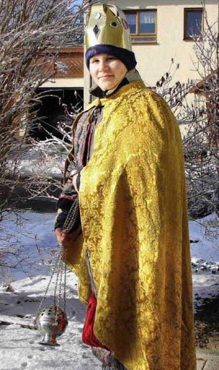 <Bildtext>Ihre goldenen Mäntel haben d...tsmitglieder zu verdanken.</Bildtext>     Foto: Christa Maier