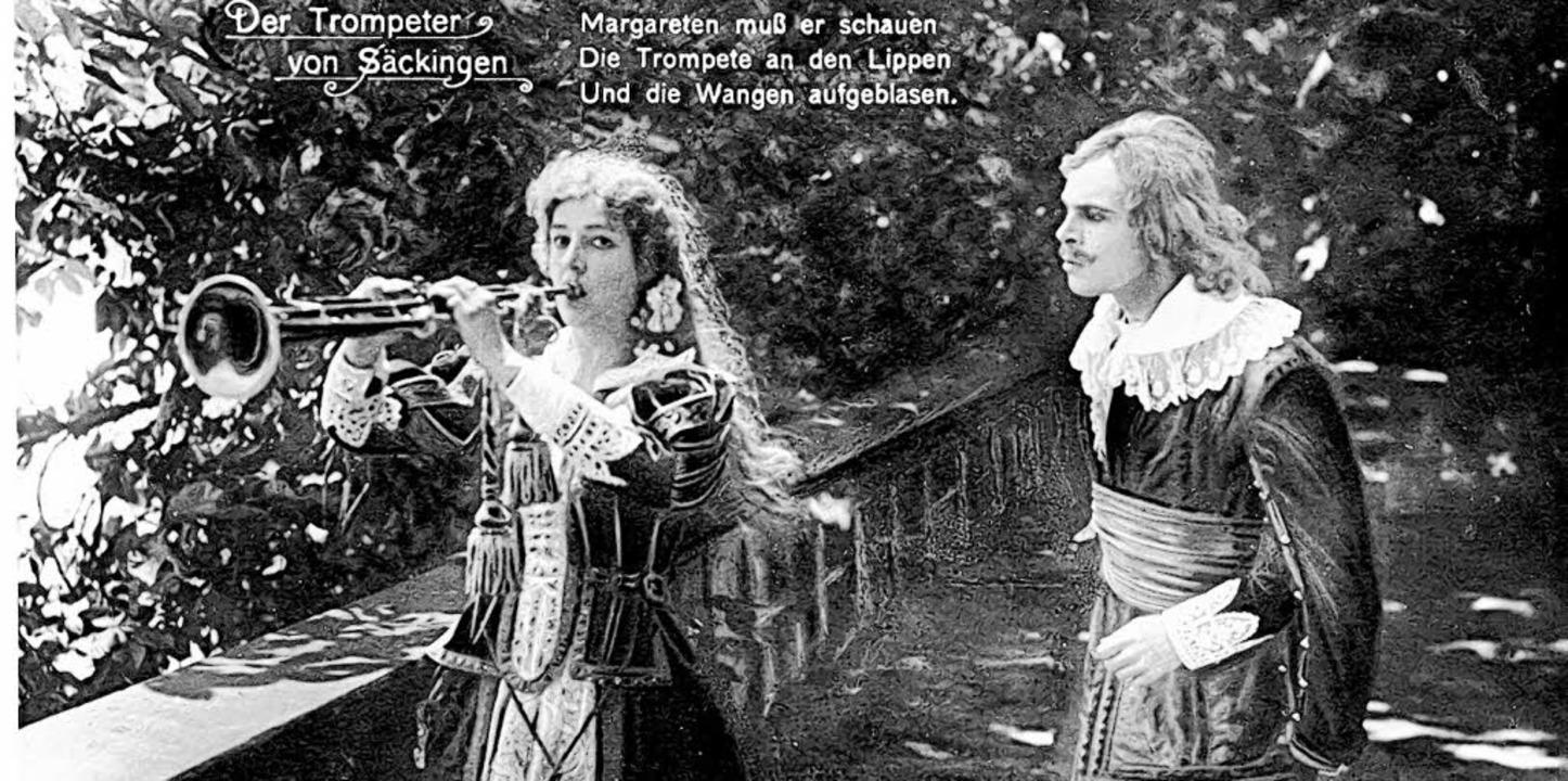 In der Filmszene spielt Margaretha (El...977)  den Film noch Jahrzehnte später.    Foto: BZ