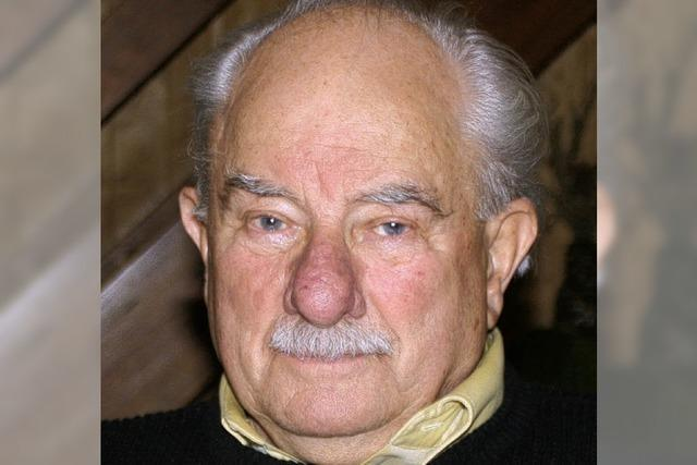 Hubert Vogelbacher wird heute 80 Jahre alt