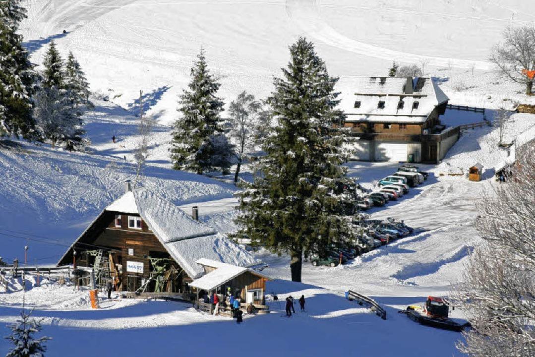 Der Skilift bei der Stollenbach Hütte    | Foto: michael martin