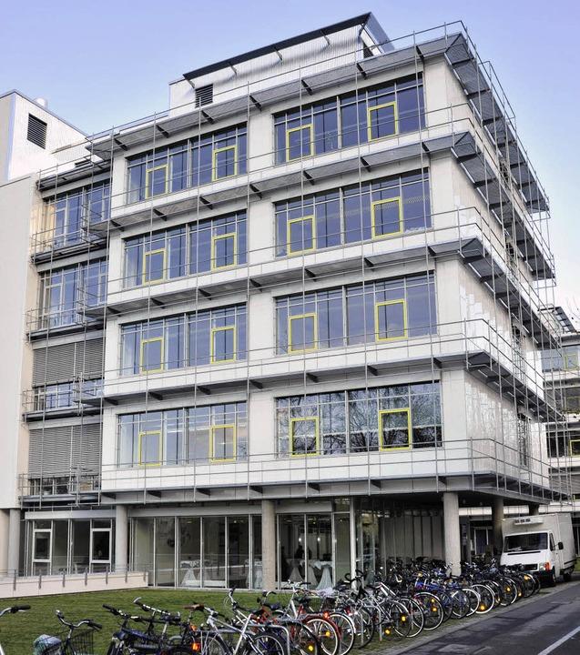 Neubau  an der Stefan-Meier-Straße: Da...Biochemie und Molekulare Zellforschung  | Foto: thomas kunz