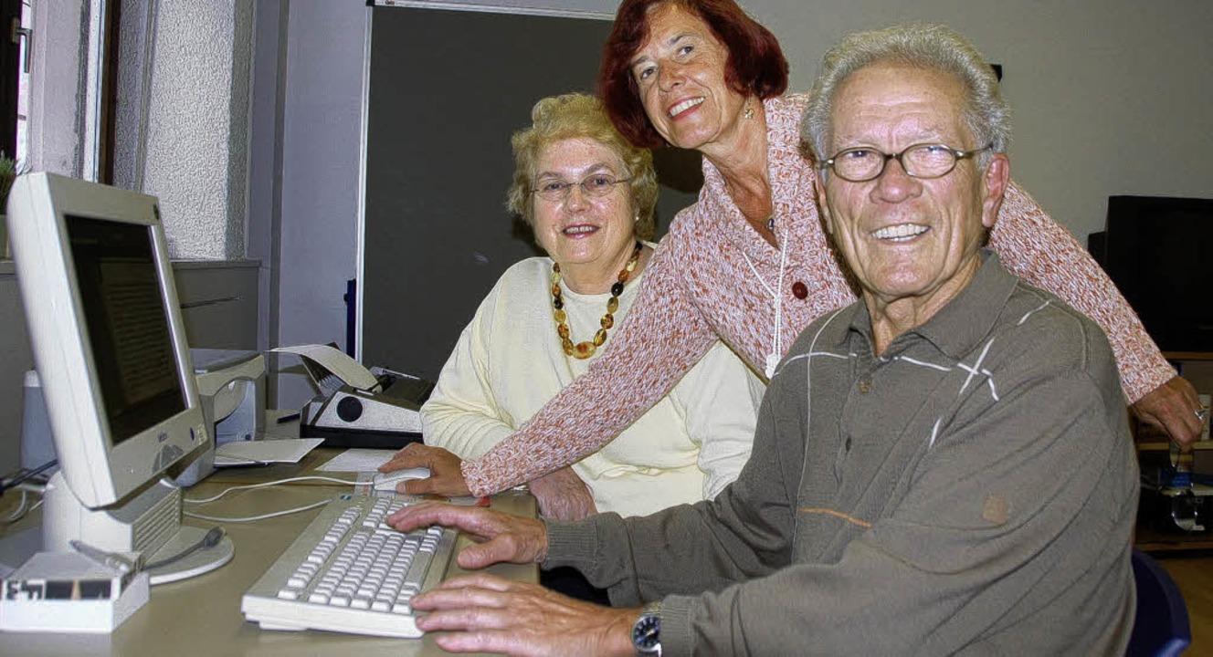 Das Internetcafé gehört zu den beliebt...kt seine Attraktivität noch steigern.     Foto: BZ-Archiv