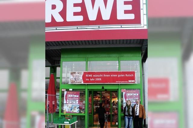 Rewe-Markt neu geführt