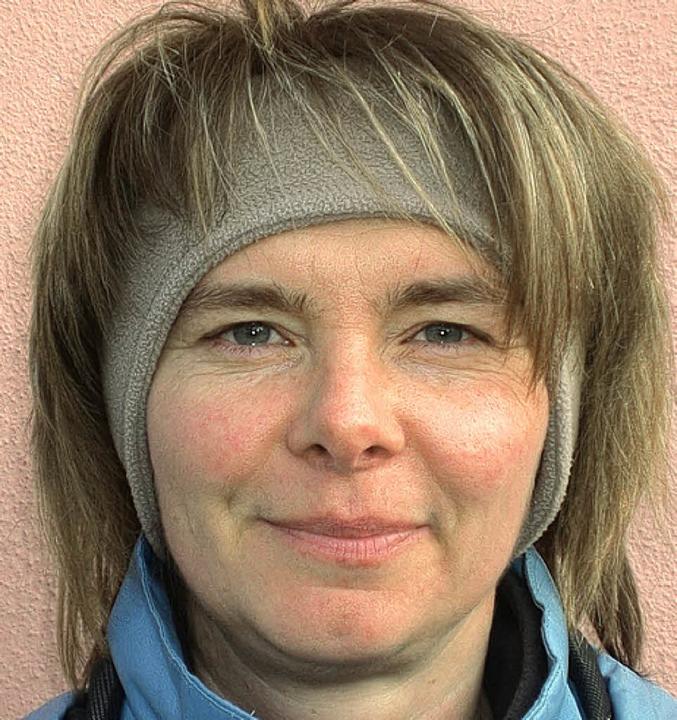 <BZ-Keyword>Katja Baaß (38) aus Ettenh...fen. Und die Augen beginnen zu tränen.  | Foto: Daniel Weber