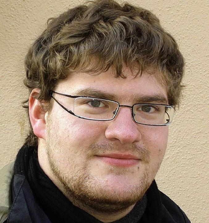 <BZ-Keyword>Valentin Mayr (18) aus Wal...ie Leute automatisch langsamer fahren.  | Foto: Daniel Weber