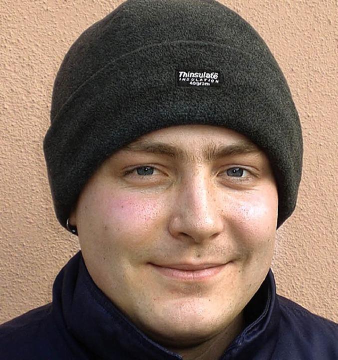 <BZ-Keyword>Daniel Hedrich (24) aus Et...ch, dass das auch weiterhin so bleibt.  | Foto: Daniel Weber