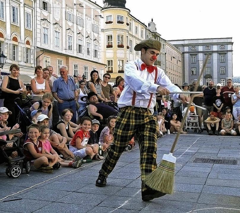 Die Kultur kommt zu den Menschen – wie bei der Straßenkunst   | Foto: dpa