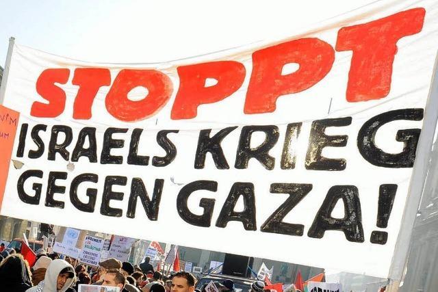Demonstrationen gegen Krieg in Nahost
