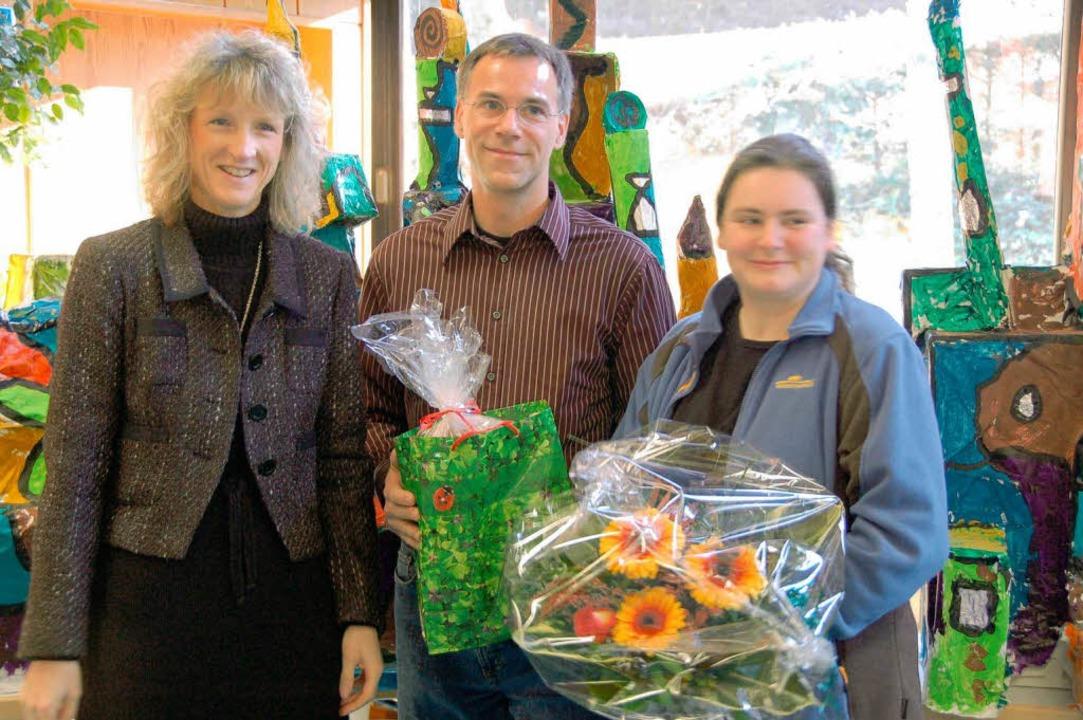 Rümmingens Bürgermeisterin Daniela Mei... Engagement (von links nach rechts).    | Foto: Maier
