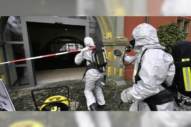 Stinkbomben-Attacke aufs Rathaus