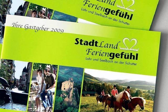 Neue Tourismusbroschüre für Lahr und Seelbach