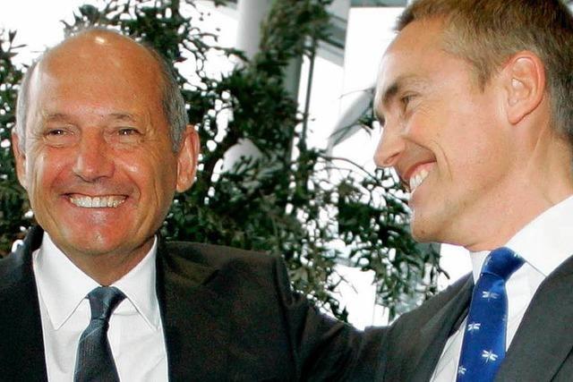 McLaren-Mercedes: Teamchef Ron Dennis hört auf