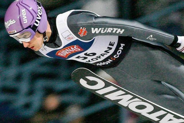 Martin Schmitt wird Dritter in Zakopane