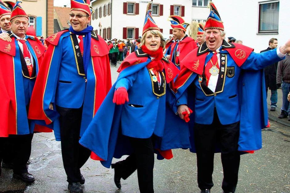 Umzug in Ringsheim zum 55. Jubiläum der Narrenzunft Rämässer