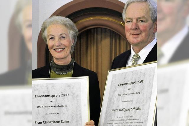 Ehrenamtspreis der CDU