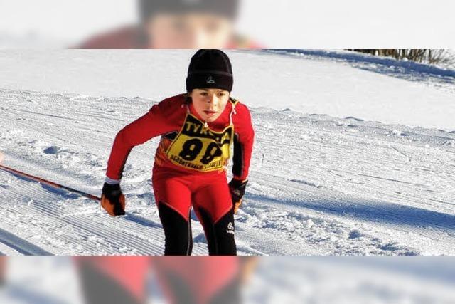 53 Kinder beim Langlauf in Häusern