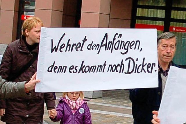 Protest gegen
