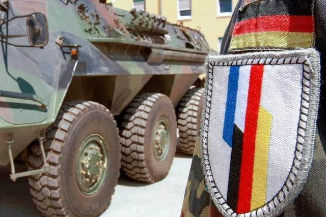 Ziehen deutsche Soldaten ins Elsass?