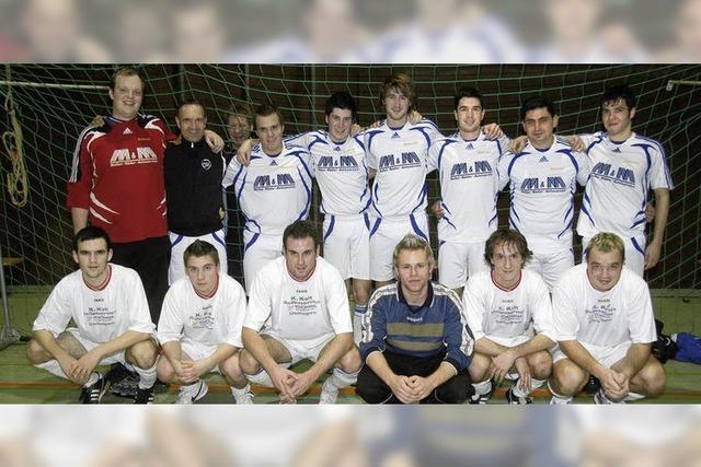 Der FC Geisslingen gewinnt das Hallenturnier