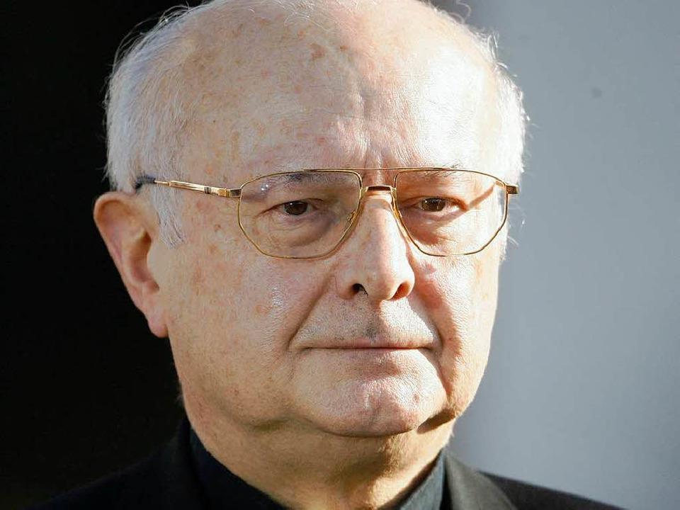 Der Freiburger Erzbischof Robert Zolli...holischen Deutschen Bischofskonferenz.  | Foto: ddp
