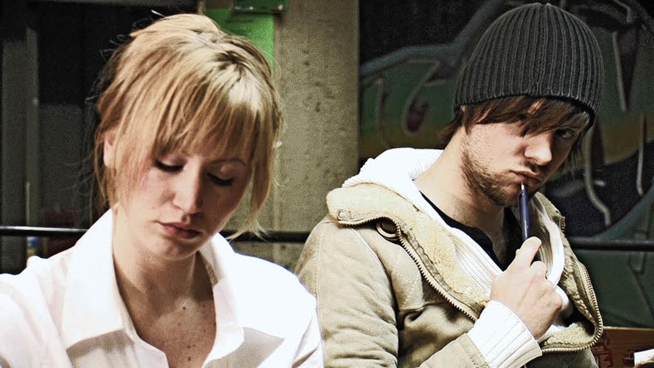 Sprech ich sie an? Szenenbild aus Sex and Zaziki mit Alex Perschel   | Foto: PR