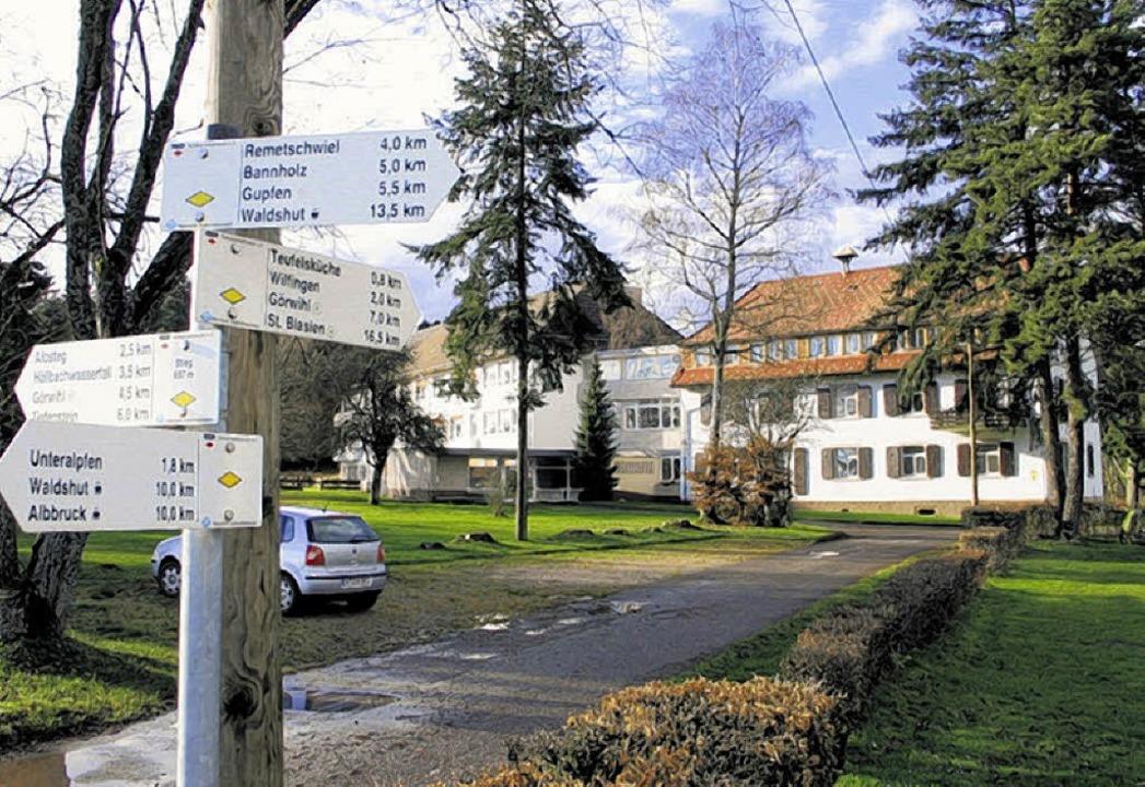 Eine idyllische Lage am Schnittpunkt a...rheilstätte am Stieg in Unteralpfen     | Foto: Dinort