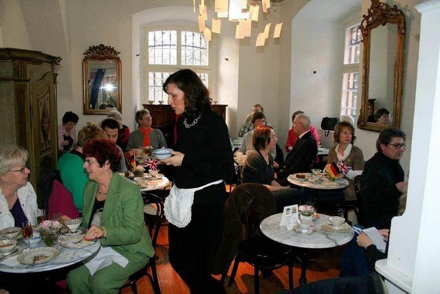 Viele Teefreunde stürmten das Museum