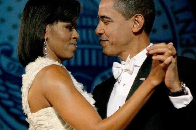 Video: Die Obamas erobern das Parkett