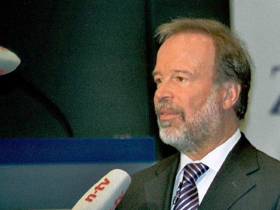 Norbert  Walter, Chefvolkswirt der Deutschen Bank.  | Foto: ddp