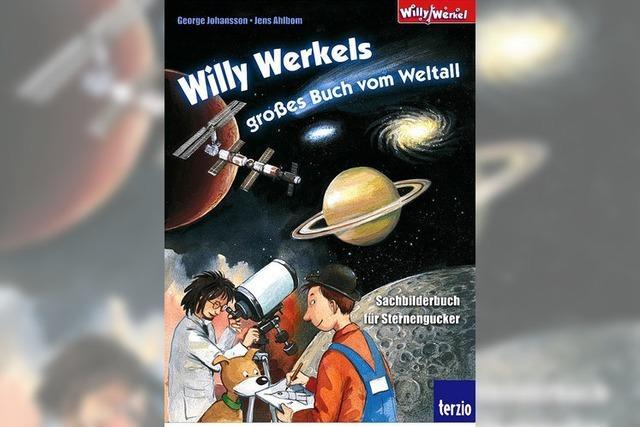BUCHTIPP: Mit Willy Werkel ins All
