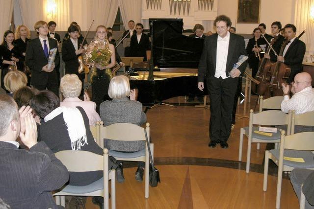 Musiker stürmisch gefeiert