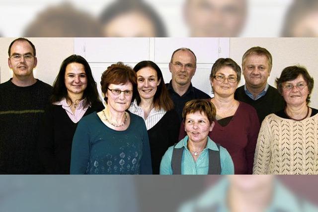 Wechsel im Vorstand des Bernauer Kirchenchores