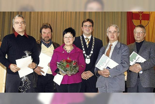 Auszeichnungen für engagierte Bürger