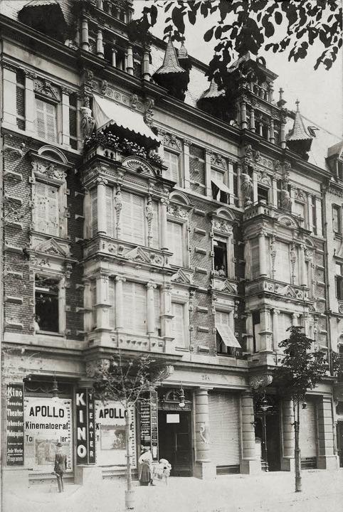 Auf dem um 1910 entstandenen Foto befi... WWK Versicherungen am Leopoldring 5.   | Foto: Archiv Manfred Gallo / Michael Bamberger