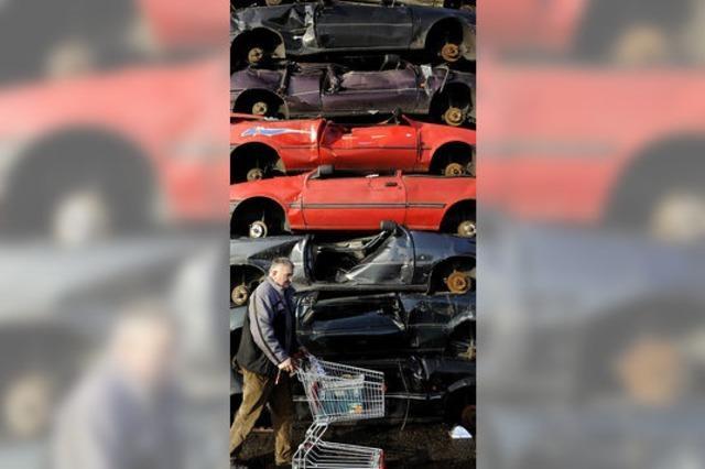 Abwrackprämie kurbelt das Autogeschäft an