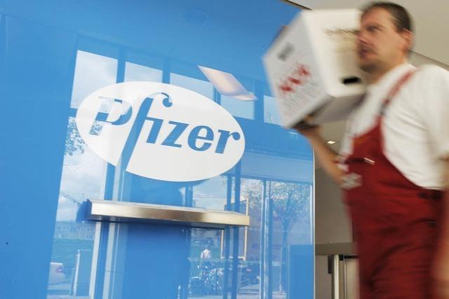 Pfizer übernimmt Wyeth