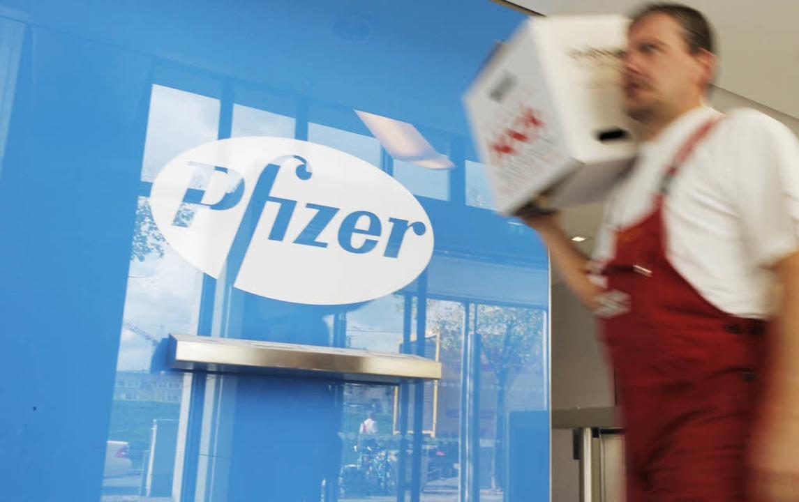 Hat Pfizer den Konkurrenten Wyeth gesc...ische Medien bestätigen die Übernahme.  | Foto: ddp