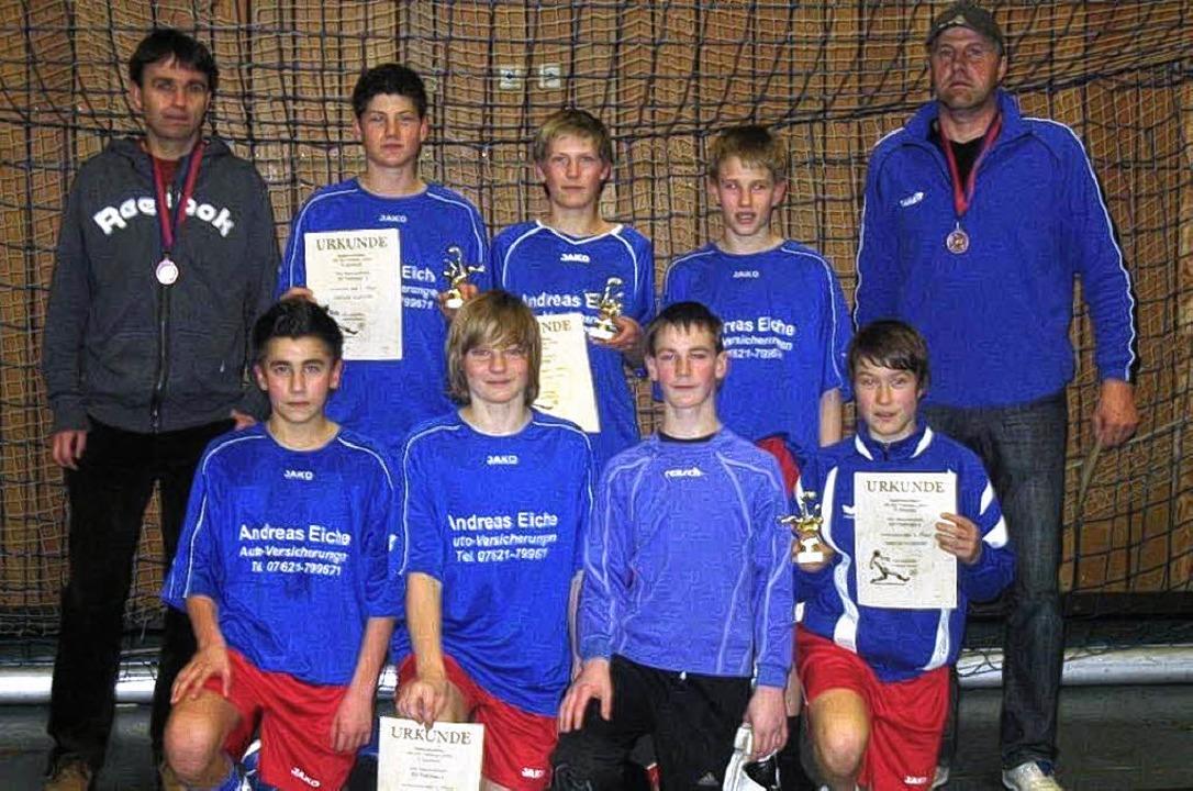 Siegreich beim Jugendfußballturnier in...au: Die C-Junioren des SV Todtnau I.      Foto: Privat
